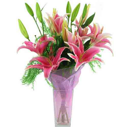Dazzling Christmas Wishes Flowers Bouquet