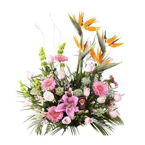 Unending Passion Mix Floral Bouquet