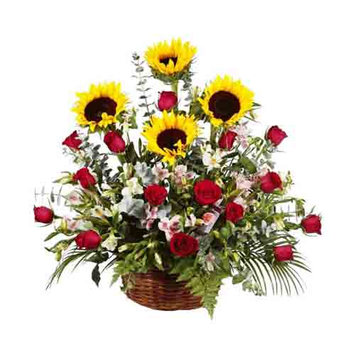 Seasonal Floral Treasures Bouquet of Wishes