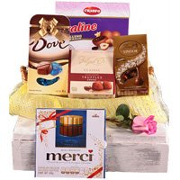 Dazzling Thanks a Million Gift Basket