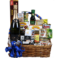 Exciting For Your Loved Ones Gift Basket with Wine