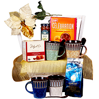 Basket of Truffles, Coffee and More