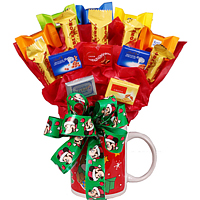 Christmas Candy with Lindt, Ritter & Toblerone Chocolates