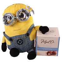 Dave Minion with Chocolates