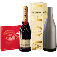 All Time Classic Champagne N Chocolates Selection