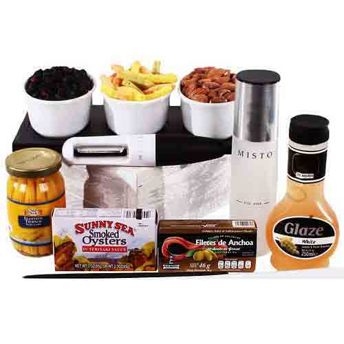 Welcoming Snacks and Salad Time Gift Hamper