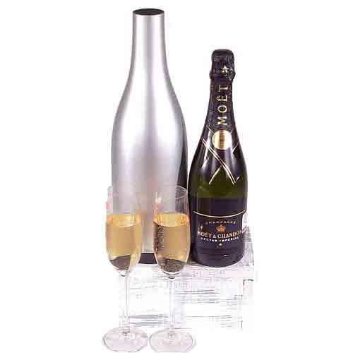 Distinctive Champagne Selection Gift Combo