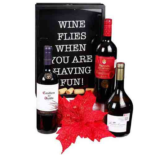Special Red Wine Trio Gift Selection