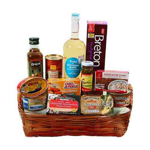 Special Christmas Gift Hamper with Wine Collection