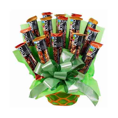 Mesmerizing Candy Delight Gift Basket