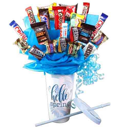 Enigmatic Bouquet of Chocolate Candies