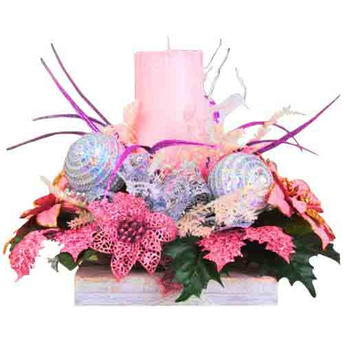 Gorgeous Centrepiece of Christmas Decoratives