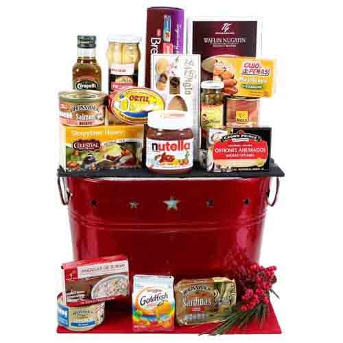Christmas Time Gift Hamper of Goodies