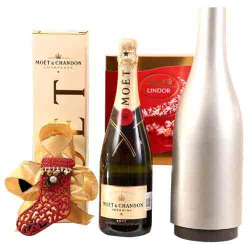 Winter Delight Champagne N Chocolate Gift Hamper