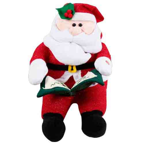 Lovely Christmas Gift of Santa Soft Toy