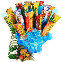 Precious Chocolate Bars Bouquet